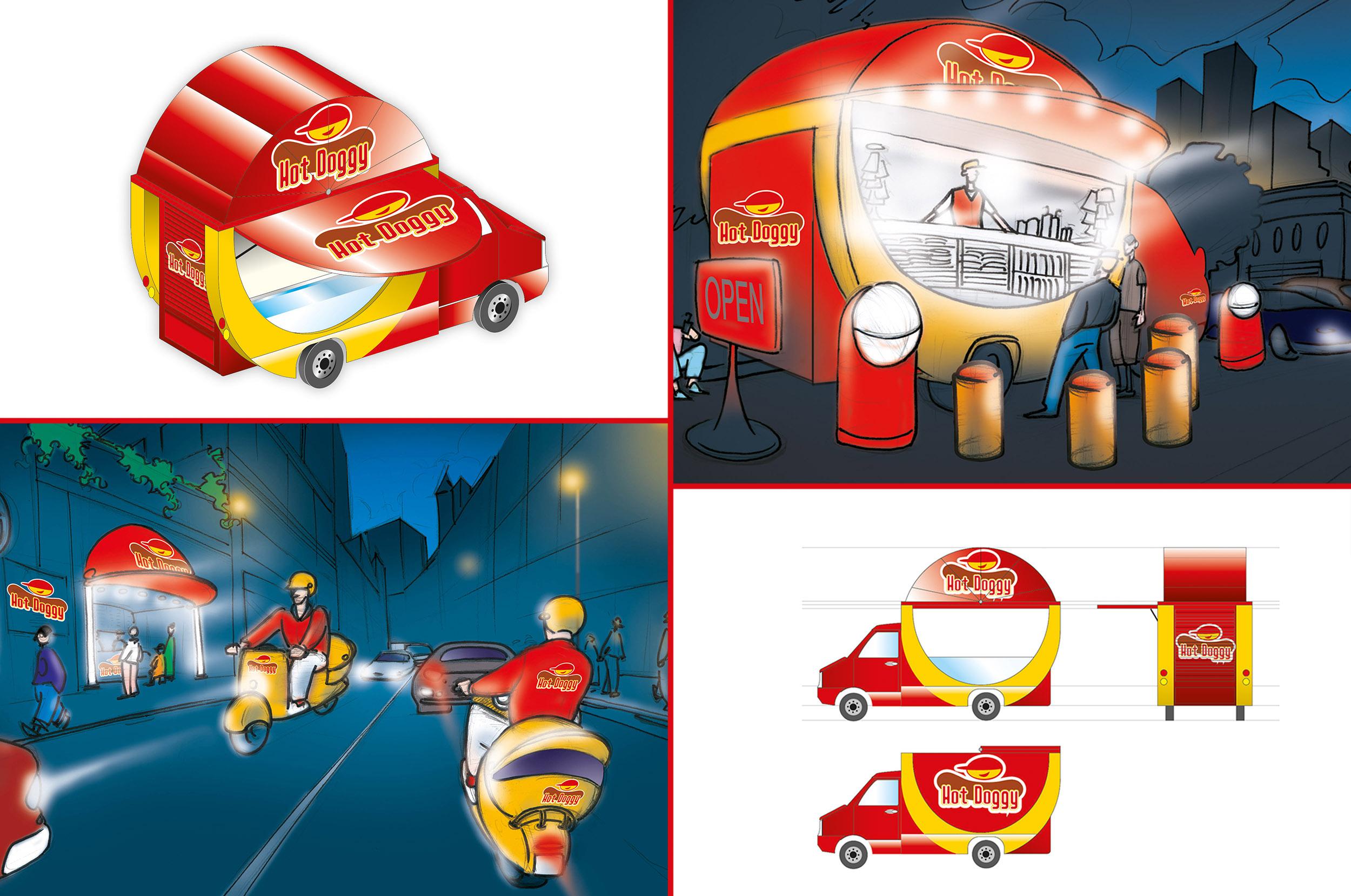 Un nome, un marchio, uno store e non solo. Un progetto giovane e dinamico, che da fast food diventa anche street food. L'hot dog, lo street food per eccellenza, parte da Milano per conquistare un po' tutta l'Italia.